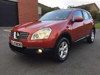 NOVEMBER 2007 NISSAN QASHQAI ACENTA 1.5 DCI ONLY 87K FULL SERVICE HISTORY TWO OWNERS