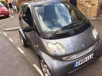 Smart Fortwo 2005 grey/black - Low mileage
