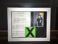 Ed sheeran thinking out loud sheet music display