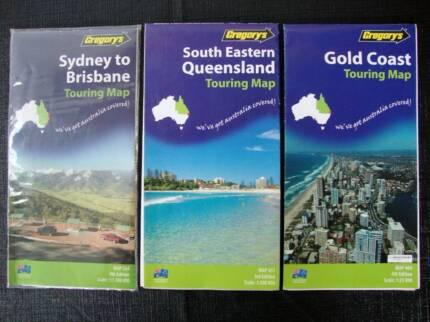 Road Maps - South East Queensland, Sydney - Brisbane & Gold Coast