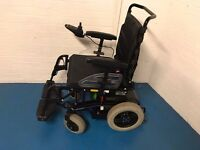 2015 Ottobock B400 Power Wheelchair in Matt Black Compact Suspension Powerchair
