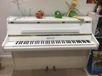 White Bentley Piano - free to good home, collection only