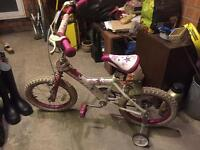 Girls Bike Pink Sonic Glamour
