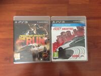 PS3 Need For Speed: most wanted + the run
