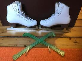 Ice or figure skating boots