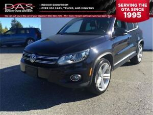 2014 Volkswagen Tiguan HIGHLINE R-Line NAVIGATION/LEATHER/SUNROO