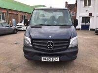 63 PLATE - 2013 - Mercedes-Benz Sprinter 2.1 313CDI Chassis Cab 2dr SWB