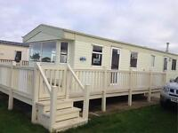 6 BIRTH LUXURY STATIC CARAVAN TO HIRE, RE-OPENING ON THE 1ST OF MARCH 2017