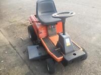 Husqvarna ride on lawn mower