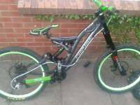 Norco aline down hill bike for swaps or sale