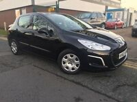 PEUGEOT 308 1.6 HDi 2012/62 !!32000 MILES!!£30 A YEAR ROAD TAX!!