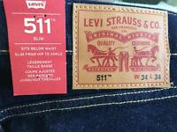 New Levi 511 Slim Jeans