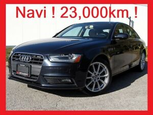 2014 Audi A4 ONLY 23K!+NAVIGATION+PREMIUM PLUS+AUDI WARRANTY