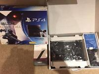 PS4 boxed with all leads and 1 dual shock controller. Free new vertical stand