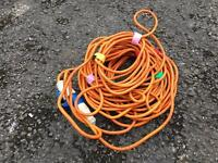 Hook up cable /electric cable