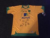 BNWT Norwich City Football Club signed top