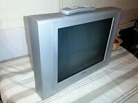 "Bush 21"" CRT TV + Remote (2 scart sockets)"