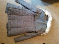 Grey coat from river island