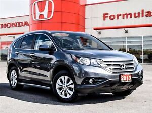 2013 Honda CR-V Touring-Top of the line model with exceptional v