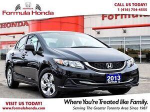 2013 Honda Civic LX | ACCIDENT FREE | BLUETOOTH