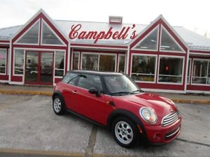 2013 MINI Cooper Cooper SUNROOF HTD LTHR SEATS!! ALLOYS