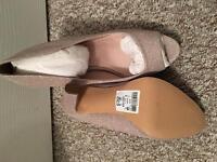 Brand new Next gold sparkle heels size 6