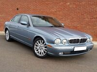 Jaguar XJ6 3.0 SE in Ice Metallic Blue with dove grey leather interior