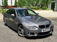 2011 BMW 320d LCI M SPORT FACE-LIFT COUPE.. only 1 previous owner/full service history/HPI Clear!
