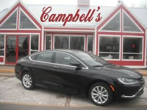 2015 Chrysler 200 C SUNROOF HTD SEATS HTD WHEEL BACK UP CAMERA