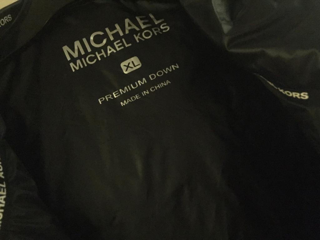 Michael kours . Bomber sleveless
