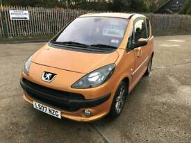 2007 07 peugeot 1007 automatic stunning car low miles