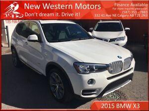 2015 BMW X3 xDrive28i!! 1 OWNER!!