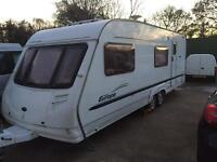 Sterling europa 600 6 berth twin axle caravan