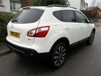 Nissan Qashqai 1.5 dCi [110] 360 5dr (white) 2014