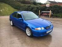 **STUNNING EXAMPLE+MG ZS 110 1.6 PETROL 5 DOOR HATCHBACK BLUE (2003 YEAR)**