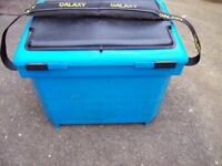 Galaxy Seat Box + Free well used Shakespeare tackle bag