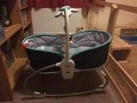 Tiny Love Rocker Napper Chair/Moses Basket