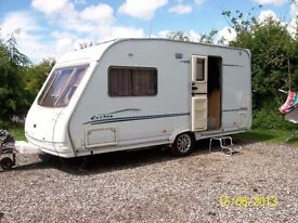 STERLING ECCLES TOPAZ CARAVAN + AWNING AND ALL EQUIPMENT