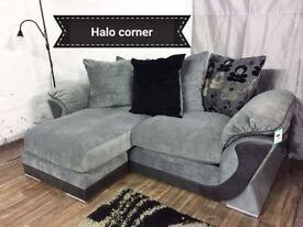 New Halo corner sofa**Free delivery**