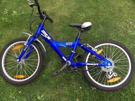 'Giant' Boys bike 20ins wheels.