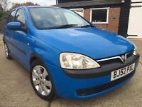 2003 Vauxhall Corsa 1.2 Sxi**Just 69,000 Miles**Stunning Example**