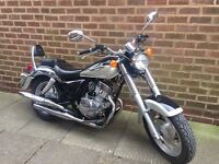 125cc motorbike with 12 months mot, low millage