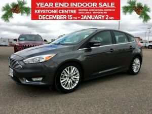 2018 Ford Focus Titanium Hatchback FWD *Wifi* *Backup  Hitch Vie