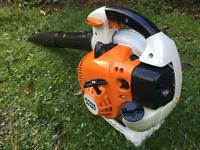 Stihl bg86c petrol leaf blower excellent condition
