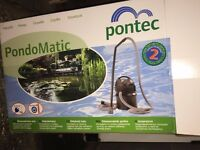 Pontec Pondomatic Pond Vacuum - Almost Brand New (Used Twice) - RRP £120 - Grab a Quick Bargain