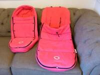 Bugaboo Cameleon/Buffalo/Bee/Donkey Footmuff/Cosytoes and Cocoon in Hot Pink