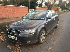 Audi A3 Sport 2.0 tdi SPARES OR REPAIR