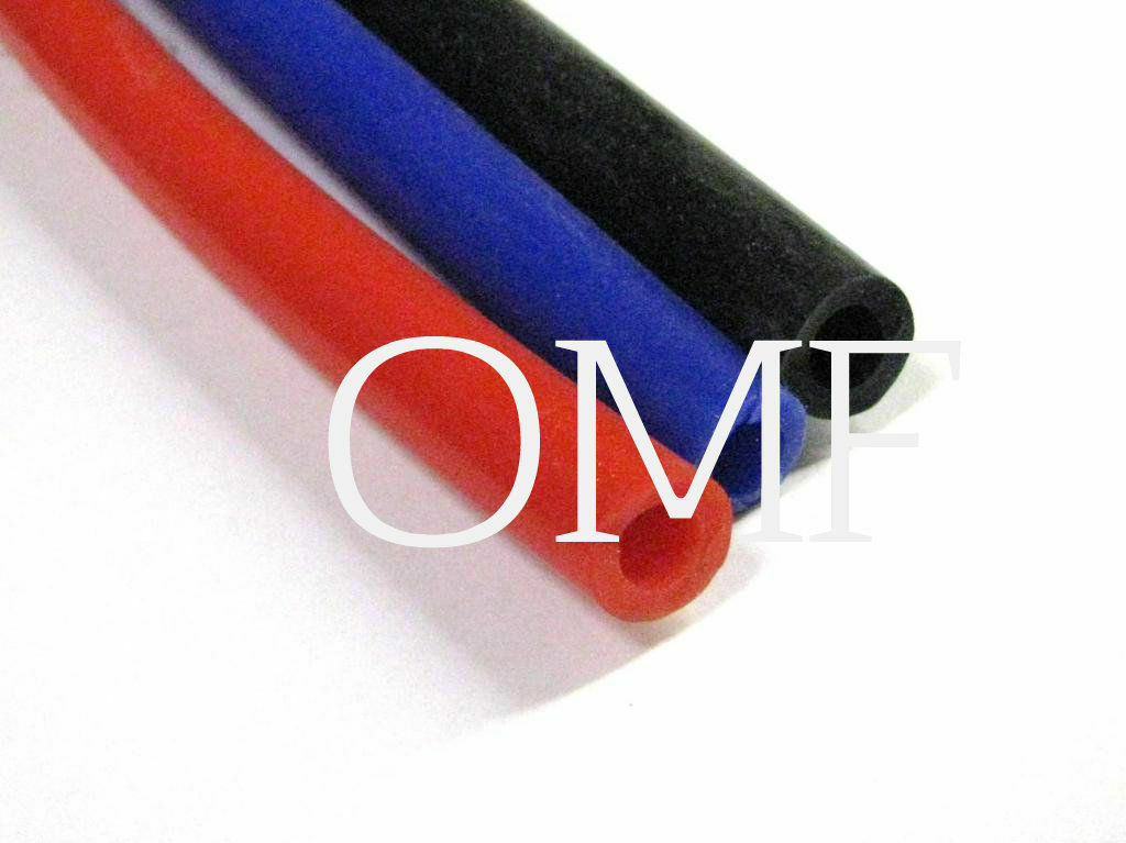 Silicone Breather Hose, Vacuum Pipe, Blue, Red, Black Silicon (3, 4, 5, 6, 9mm)