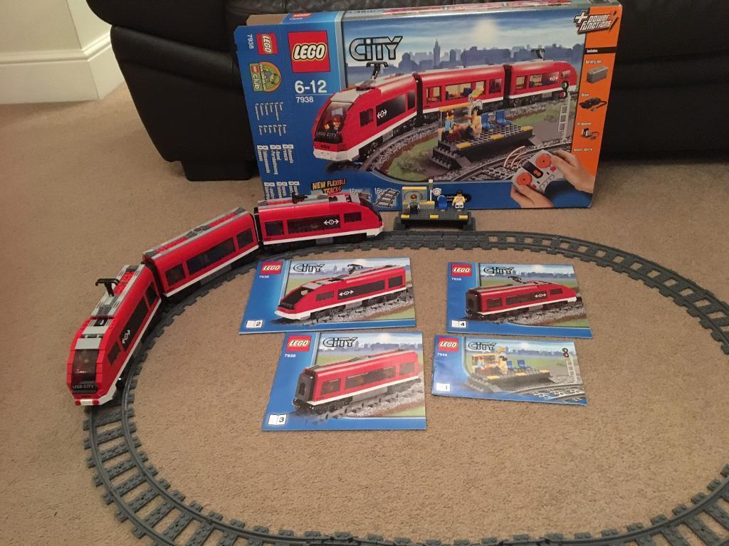 Lego City Passenger Train Set 7938 Train Station 7937 In