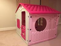 Pink Kids play house like new